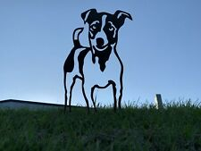 More details for jack russell with tail rusty dog metal garden art