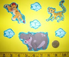 New! Disney's The Lion Guard Iron-on Fabric Appliques ~ Iron ons