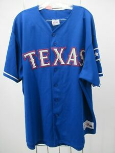 H2459 Majestic Texas Rangers MLB-Baseball Jersey Made in USA Size 2X