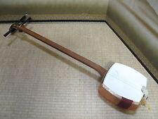 Japanese Vintage#SHAMISEN Classic Stringed Instrument CYUZAO For MINYO#7896