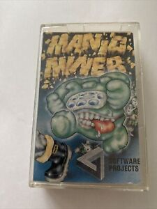 MANIC MINER game cassette for Commodore 64 C64 128 by SOTWARE PROJECTS