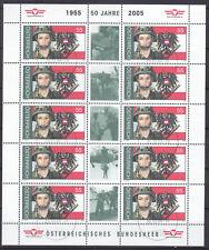 Österreich 2004 - Mi. 2482 Tag der Briefmarke als kleinbogen gestempelt