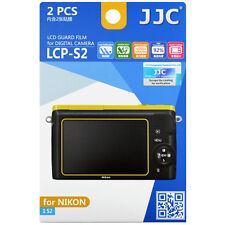 JJC LCP-S2 LCD Guard Film Camera Screen Display Protector for NIKON 1 S2