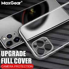 Ultra Thin Silicone Clear Cover Case for iPhone 11 Pro Max (6.5)