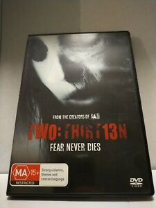 Two: Thirteen Thirt13n Super Rare Region 4 Horror DVD from the Creators of SAW..