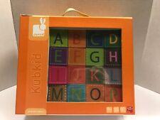 Janod (France) Kubkid Alphabet Animal Blocks Nib