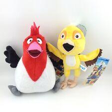 2X Rio The 3D Movie Plush Toy Character Nico Pedro Macaw Birds Stuffed Animal