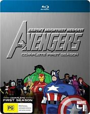 Marvel - The Avengers : Season 1 (Blu-ray, 2011, 4-Disc Set)