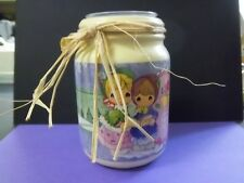 Precious Moments Candle Votive Jar Holder Tidings of Comfort and Joy