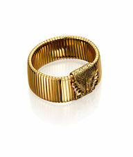 Anna Dello Russo at H&M GOLD FAMILY Baroque Gold Bracelet ,Cuff,necklace magnet