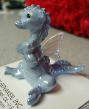 ➸ Hagen Renaker Fantasy Miniature Figurine Dragon Blue
