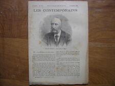 1898 mais marqué 1897 LES CONTEMPORAINS Jules Ferry FIN