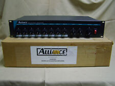 NOS DuKane Alliance AL801MM Microphone Mixer/Preamplifier PA Mixer Rackmount