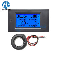 Lcd Ac 80 260v 0 100a Digital Voltage Volt Current Meter Panel Power Energy