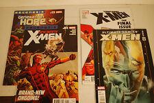 X-Men 4 book lot, Uncanny X-Men, Regenesis and Ultimate Comics