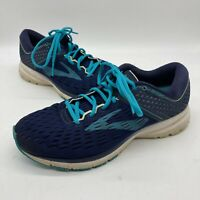 Brooks Ravenna 9 1202691D452 Running Shoes, Women's Size 9 D, Navy