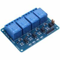 5V Optocoupleur Led De Module De Carte De Relais 4 Canaux Pour Arm Avr Arduino