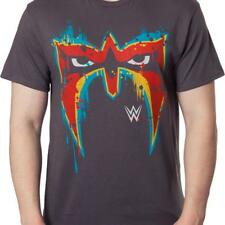 ULTIMATE WARRIOR *Officially Licensed* 80s Mask T-Shirt - WWE/WWF!