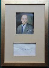 Russian Soviet Composer Igor Stravinsky Autograph Collection of Emil Telmányi