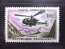 FRANCE 1958 - 1000f Helicopter SG1320 U/M FP8949