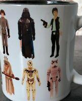 Star Wars Vintage Wave 1 1977 Action Figures Toys Kenner Palitoy Poster Mug
