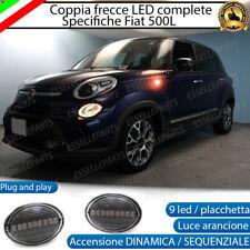 COPPIA FRECCE LATERALI 18 LED SPECIFICHE FIAT 500L ACCENSIONE DINAMICA DINAMICHE