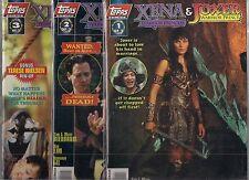 XENA WARRIOR PRINCESS & JOXER WARRIOR PRINCE #1-#3 SETS (NM-) ART & PHOTO COVERS