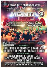 MONTA MUSICA VALENTINES 17 FEBRUARY 2017 BOX SET