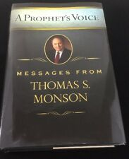 Thomas S. Monson  Hand Signed A Prophets Voice Hardcover Book Lds Mormon Rare