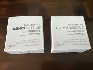 2x boxes Blemish Rescue Skin-Clearng Loose Powder Foundation - Neutral Ivory 2N