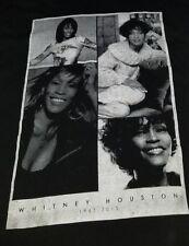 Whitney Houston T-shirt 2XL for men original 31×24