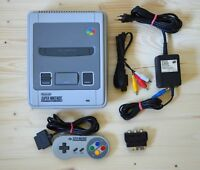 SNES - Super Nintendo Konsole mit Original Controller (sehr guter Zustand)