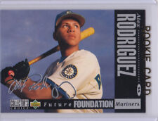 ALEX RODRIGUEZ AUTO SIGS Silver Signature ROOKIE CARD 1994 Upper Deck CC AROD RC