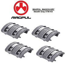 MAGPUL - MAG510-GRY Enhanced XTM STEALTH GRAY Textured Rail Cover Kit - 4pcs