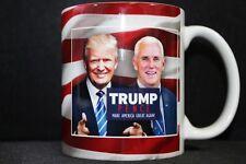 Trump Pence Make American Great Again President Political Coffee Cup Mug