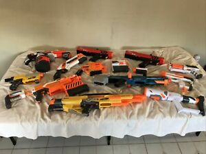 Huge Nerf Gun Lot of 12