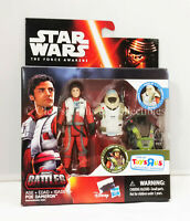 Poe Dameron TRU Exclusive Epic Battles Armor Up Star Wars The Force Awakens New!
