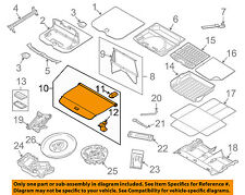 VOLVO OEM 10-16 XC60 Interior-Rear-Luggage Compartment Cover 39823857
