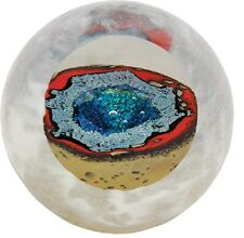Thermal Pond Paperweight Glass Eye Studio Environmental New Made in USA 618