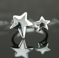 925 Solid Sterling Silver Plated Women/Men NEW Fashion Ring Gift SIZE OPEN SEP01