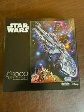 Star Wars1000 Piece Puzzle Millennium Falcon Buffalo *MISSING 1 Piece* #11803