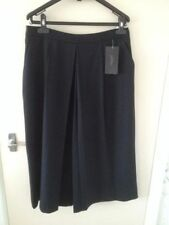 Zara Wide Leg Polyester Mid Rise Trousers for Women