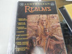 AUSTRALIAN REALMS MAGAZINE ISSUE 19