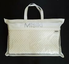 MISIKI NEW White Back/Side Sleeping Contour Cervical Memory Foam Pillow