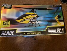 Blade Nano Cpx Mini Helicopter As3X Adult owned, Barely Used