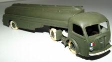 Dinky Toys 32C Panhard semi-remorque citerne Titan militaire