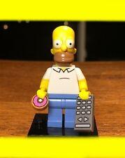 LEGO THE SIMPSONS SERIES 1 HOMER w/ REMOTE CONTROL DOUGHNUT MINIFIG #71005