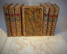 BARTHELEMY Jean-Jacques Voyage du jeune ANACHARSIS en GRECE 1788 De Bure Atlas