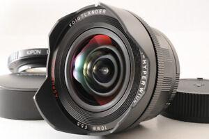 【TOP MINT+】Voigtlander HELIAR-HYPER WIDE 10mm F5.6 Aspherical VM Lens M EOS-R JP