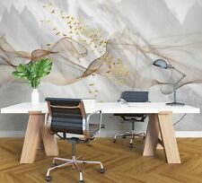 New Listing3D Marble Mountains Zhua8101 Wallpaper Wall Murals Removable Self-adhesive Amy